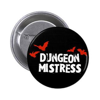 Dungeon Mistress 6 Cm Round Badge