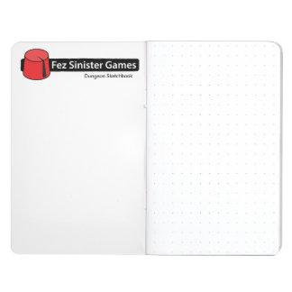 Dungeon Sketchbook Journal