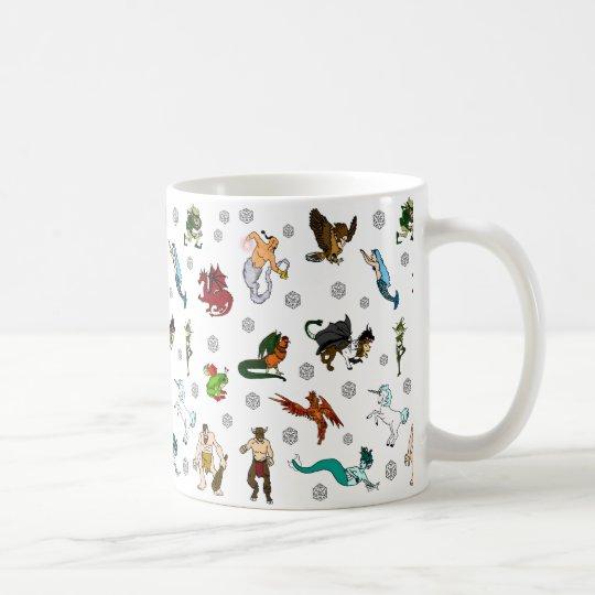 Dungeons And Dragons Coffee Mug