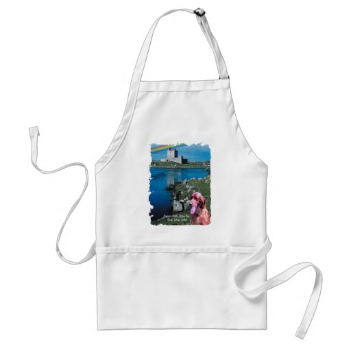 Dunguaire Castle View Galway Bay Ireland Apron