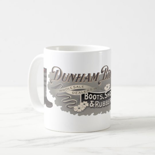 Dunham Bros. Boots, Shoes, and Rubbers Mug