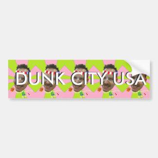 Dunk City, USA (sticker) Bumper Sticker