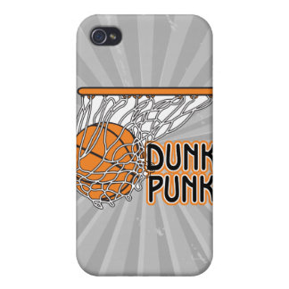dunk punk cool basketball design iPhone 4/4S cases