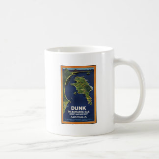 Dunk The Romantic Isle - Great Barrier Coral Reef Basic White Mug