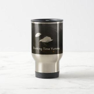 Dunking Time Yummy Stainless Steel Travel Mug
