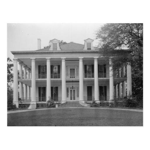 Dunleith Plantation, Natchez MS Postcard