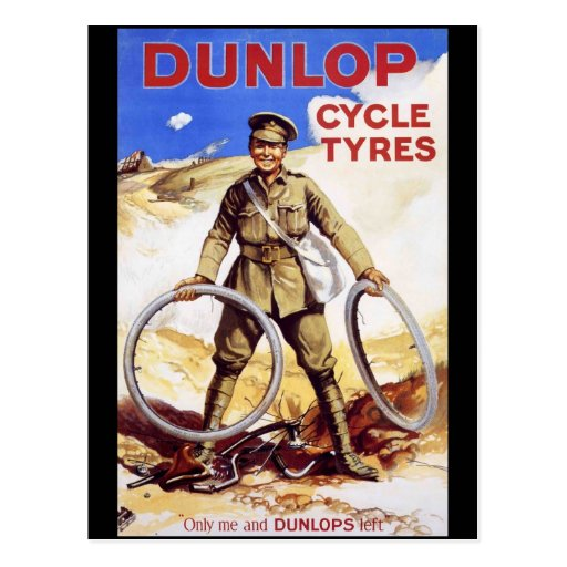 Dunlop Cycle Tyres Post Cards