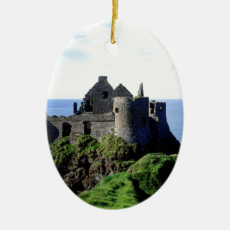 Dunluce Castle Christmas Ornament