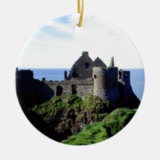 Dunluce Castle Christmas Ornament
