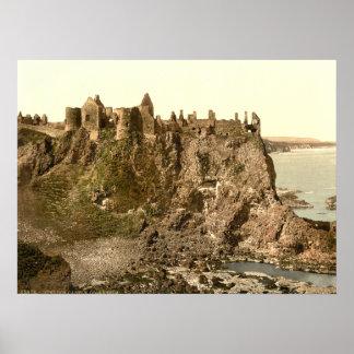 Dunluce Castle, County Antrim Poster