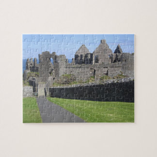 Dunluce Castle near Bushmills and Portrush, 2 Jigsaw Puzzle