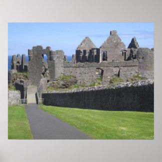 Dunluce Castle near Bushmills and Portrush, 2 Poster