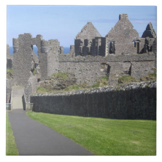 Dunluce Castle near Bushmills and Portrush, 2 Tile