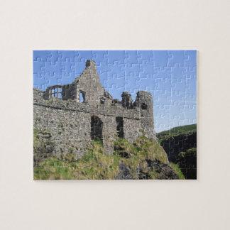 Dunluce Castle near Bushmills and Portrush, 3 Jigsaw Puzzle