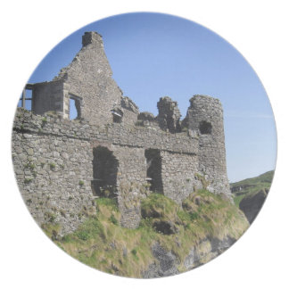 Dunluce Castle near Bushmills and Portrush, 3 Plate