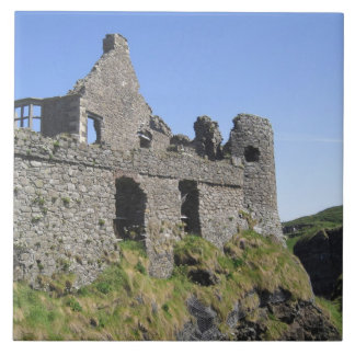 Dunluce Castle near Bushmills and Portrush, 3 Tile
