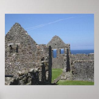 Dunluce Castle near Bushmills and Portrush, Poster