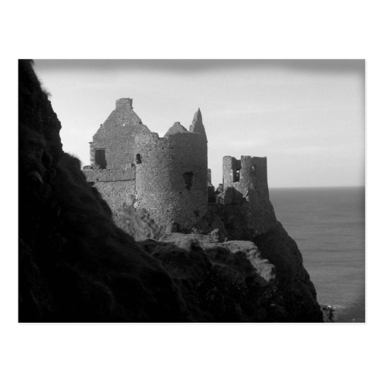 Dunluce Castle Northern Ireland Postcard