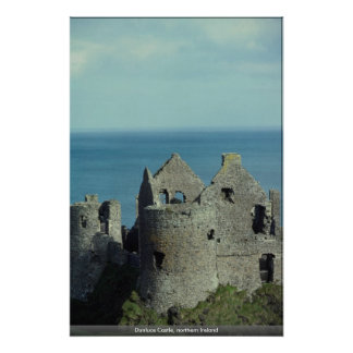 Dunluce Castle, northern Ireland Posters