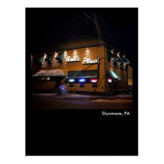 Dunmore, PA- Heil's Place Postcard