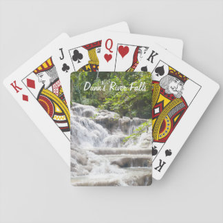Dunn's River Falls photo Playing Cards