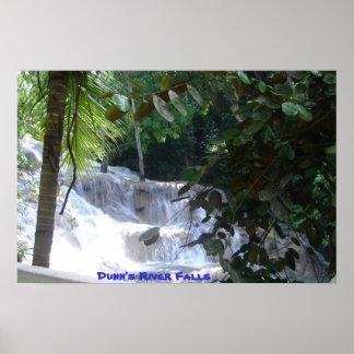 Dunn s River Falls Poster