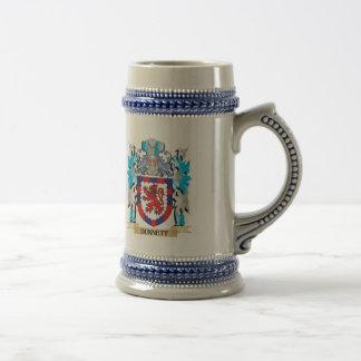Dunnett Coat of Arms - Family Crest Beer Stein