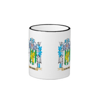 Dunning Coat of Arms - Family Crest Ringer Coffee Mug