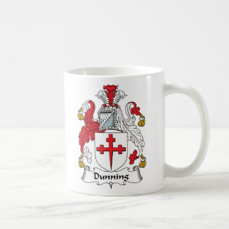 Dunning Family Crest Basic White Mug