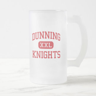 Dunning - Knights - High - Willows California Frosted Glass Mug