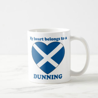 Dunning Classic White Coffee Mug