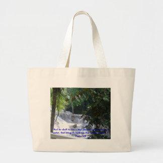 Dunn's River Falls, Jumbo Tote Bag