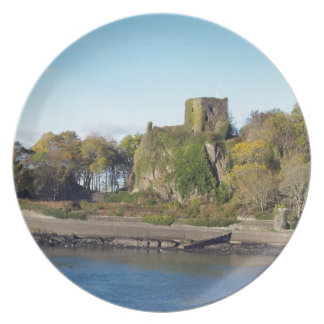 Dunollie Castle, Scotland Plate