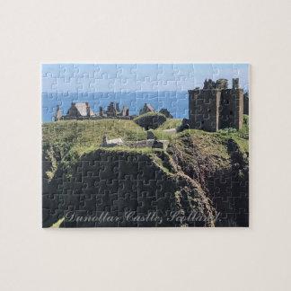 Dunottar Castle, Scotland. Jigsaw Puzzle
