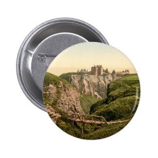 Dunottar Castle, Stonehaven, Scotland 6 Cm Round Badge