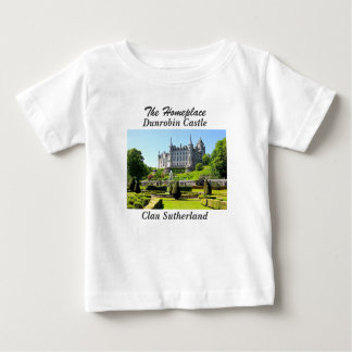 Dunrobin Castle – Clan Sutherland Baby T-Shirt