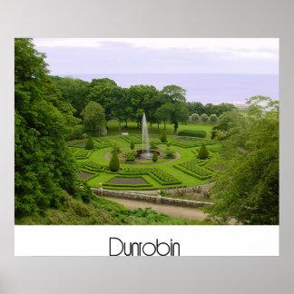 Dunrobin Castle Gardens Poster