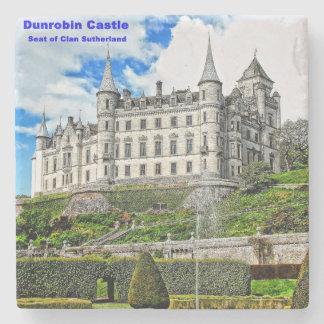 Dunrobin Castle Stone Coaster