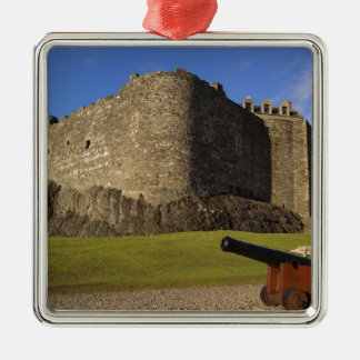 Dunstaffnage Castle, Argyll and Bute, Scotland Silver-Colored Square Decoration