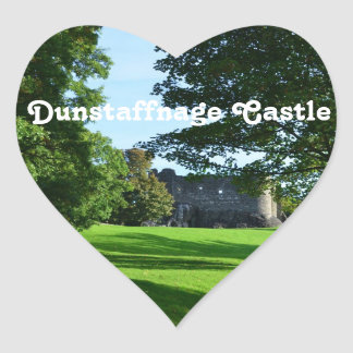 Dunstaffnage Castle Heart Stickers