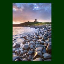 Dunstanburgh Castle at Dawn print Photograph