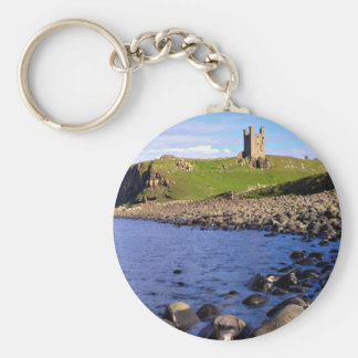 Dunstanburgh Castle, Northumberland, England Key Ring
