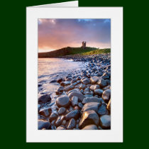 Dunstanburgh Castle, Northumberland Greetings Card