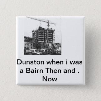 dunston 15 cm square badge