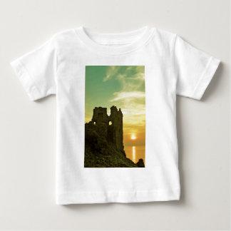 Dunure Castle Sunset Baby T-Shirt