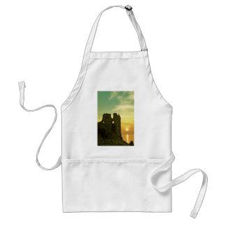 Dunure Castle Sunset Standard Apron