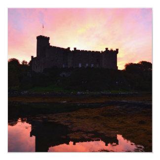 Dunvegan Castle at Dawn Custom Announcements
