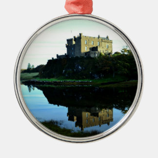 Dunvegan Castle on Skye Christmas Ornament
