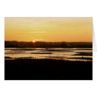 Dunwich Sunset (Blank Card)
