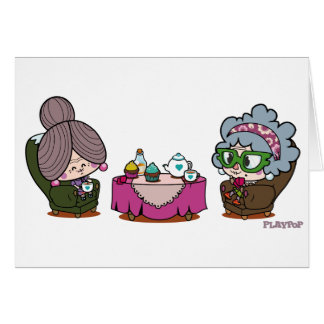 duo solitaire greeting card